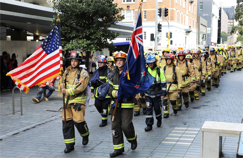 Memorial climb honours firefighters